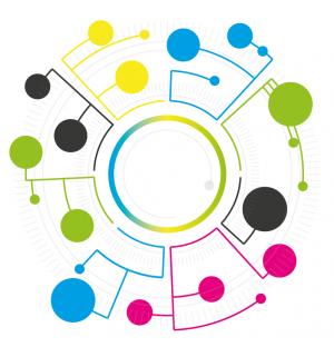 Design eines Kreis-Diagramm