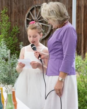 Hochzeitsansprache von der Tochter