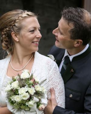 Hochzeit: Brautleute