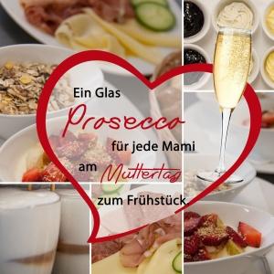 Ein Facebook Posting, für Muttertag... Prosecco für Mamis