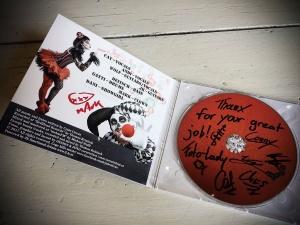 Vielen lieben Dank für die #CD und für die großartige Wertschätzung meiner Arbeit!!!! – mit Cornelia Martina Lukas – hier: Design & Foto cornelefant.